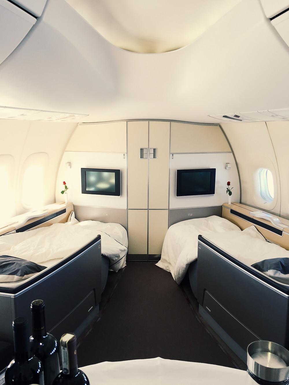 Lufthansa First Class, Turndown Service