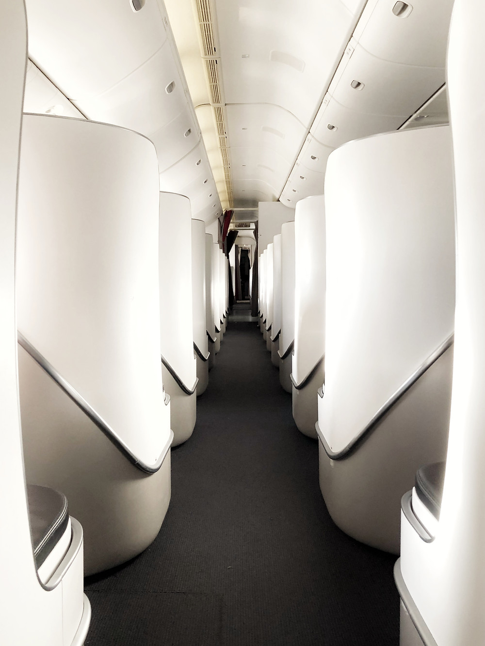 Air France Business Class, Second Section
