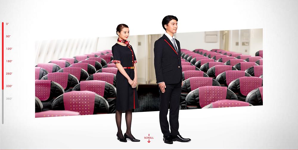 Japan Airlines New Uniform 2020 Option A