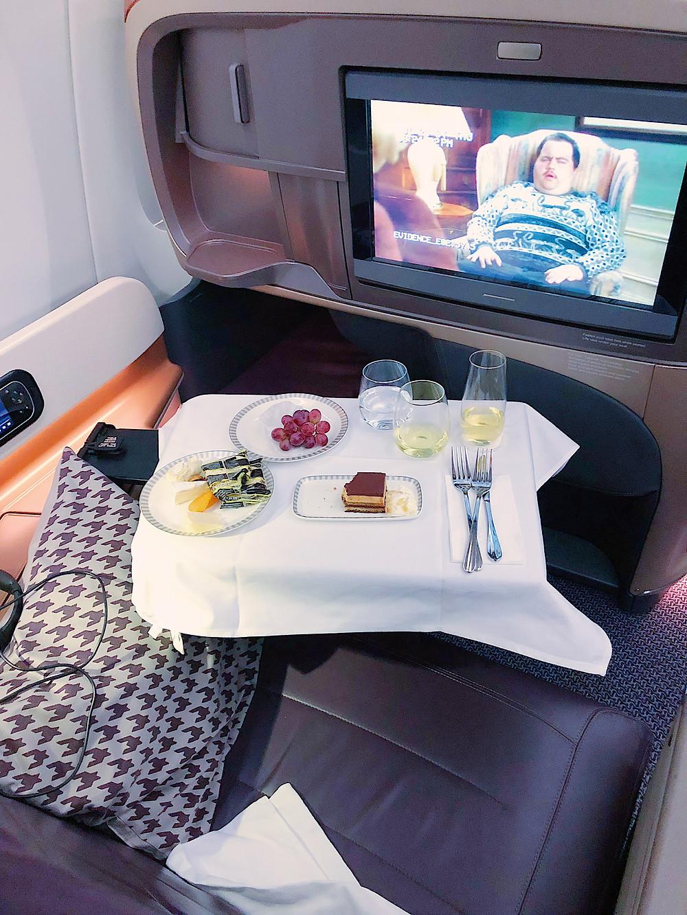 Singapore Airlines, Dessert