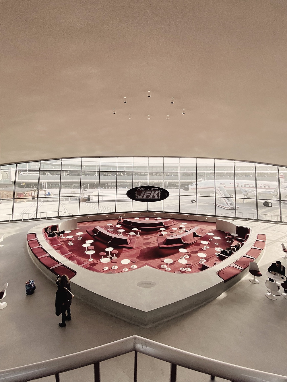 The TWA Hotel Review: The Stay, Sunken Lounge