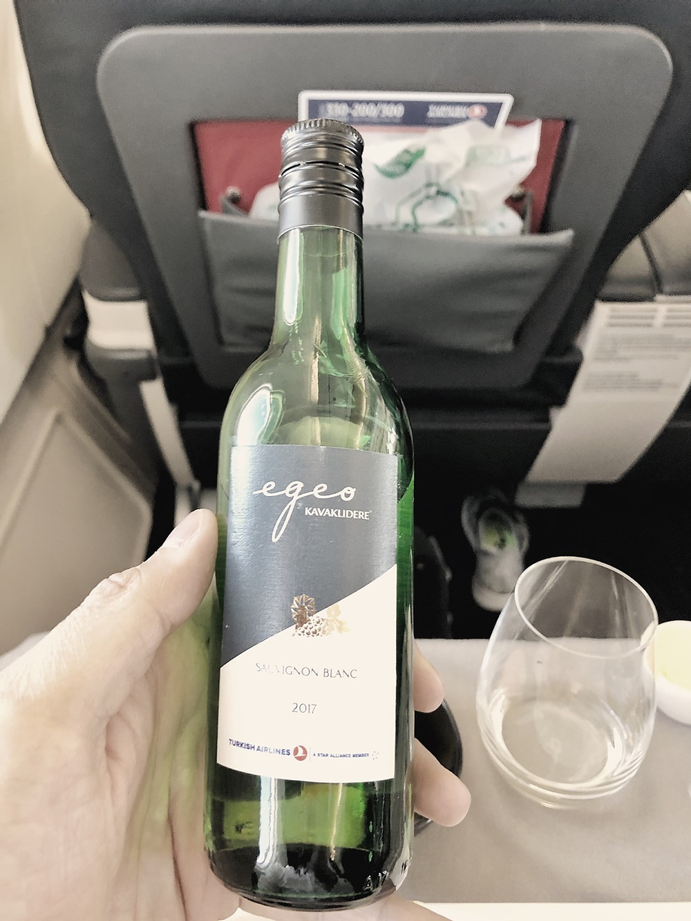 Turkish Airlines Business Class Sauvignon Blanc