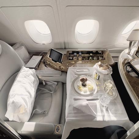 Emirates First Class Review: The Flight, San Francisco - Dubai