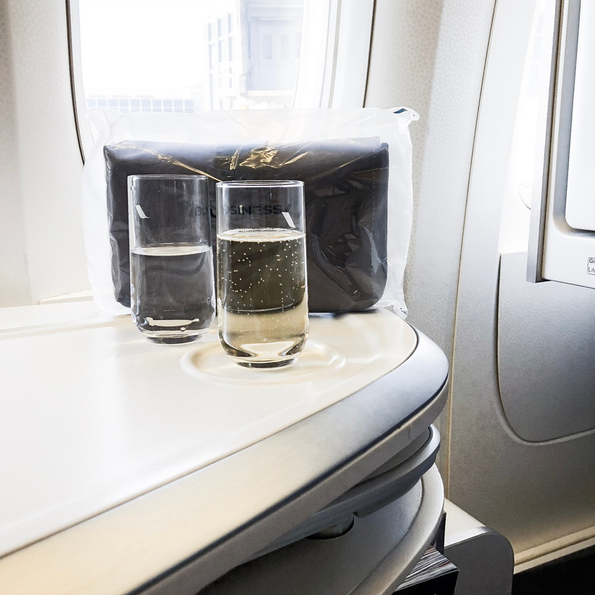 Air France Business Class, The Welco