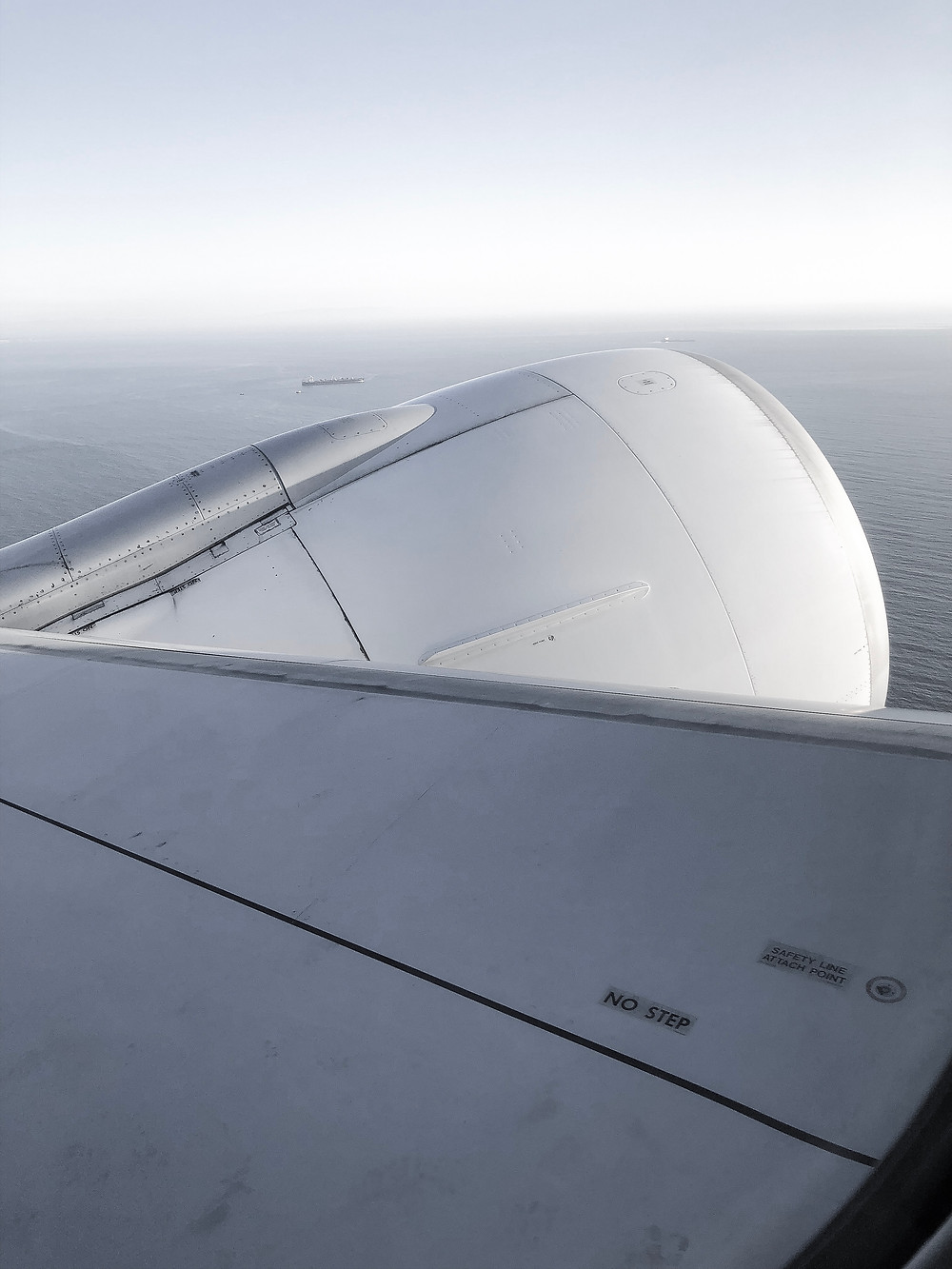 Air France Business Class, The Window View