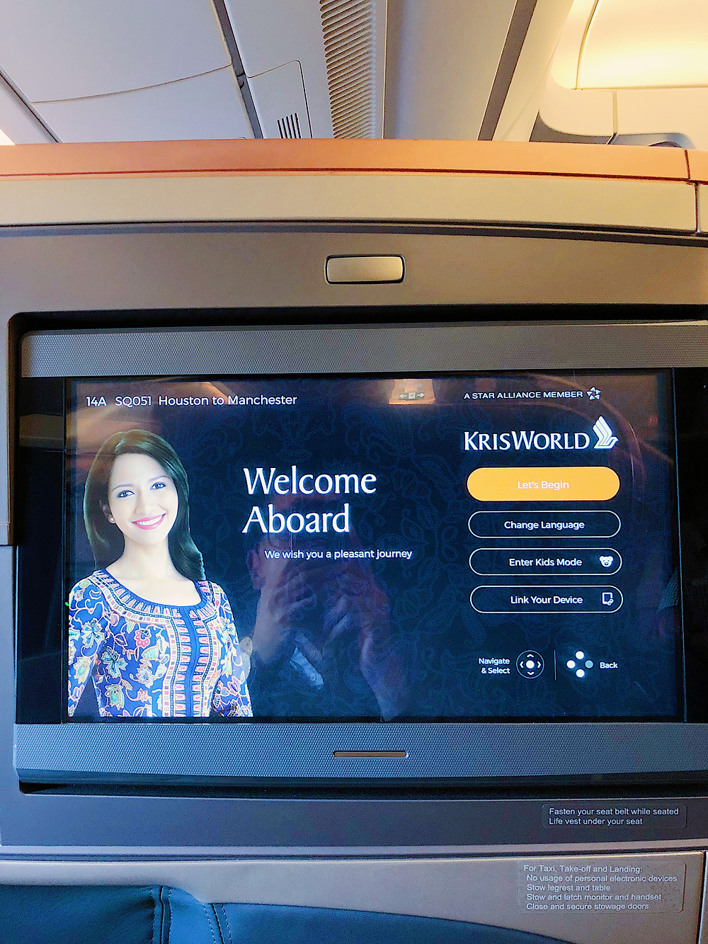 Singapore Airlines Business Class, KrisFlyer System