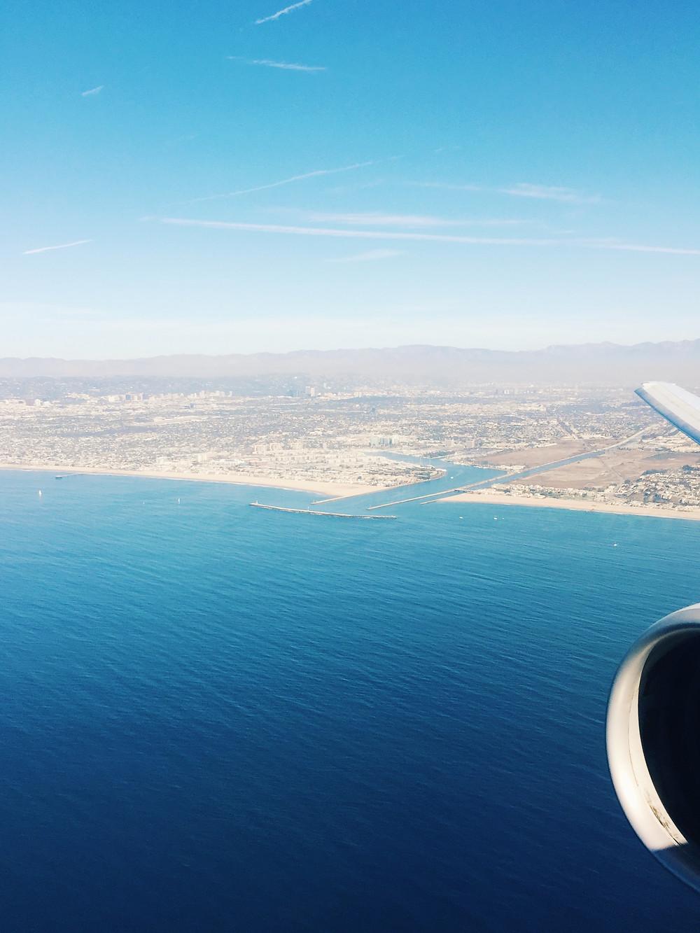 LAX, Departure Views