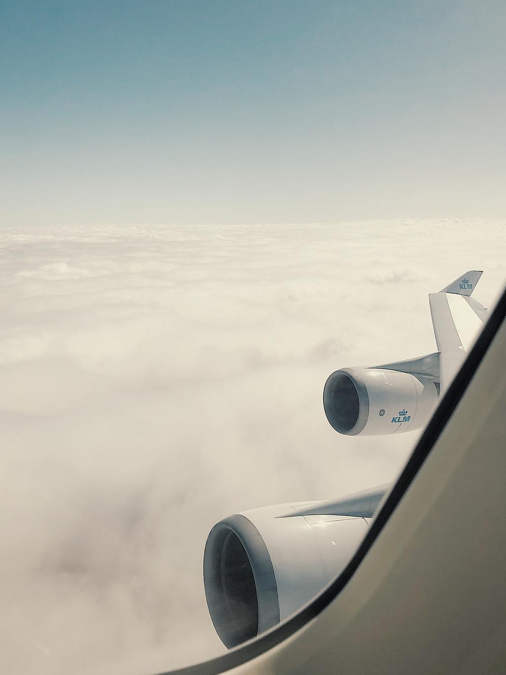 KLM Boeing 747-400ER Combi Wing