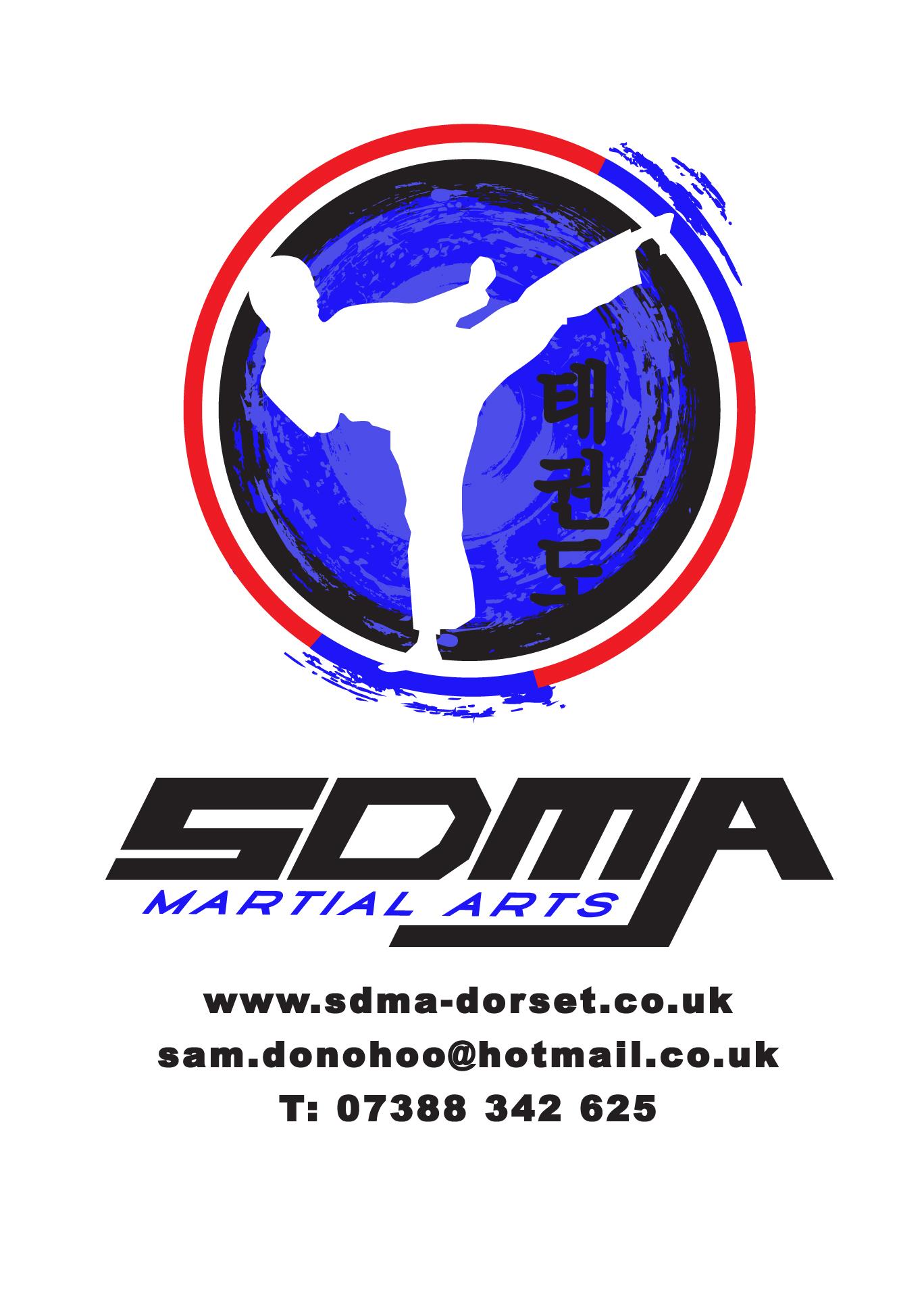 SDMA Hoody Logo White background