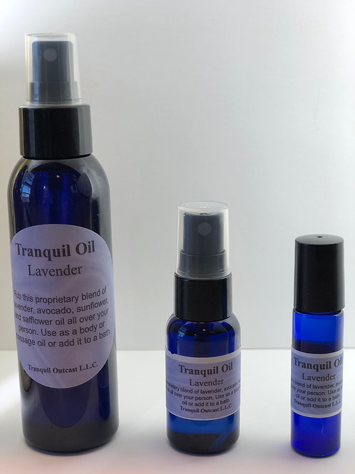 Tranquil Oil Body/Massage/Bath Oil
