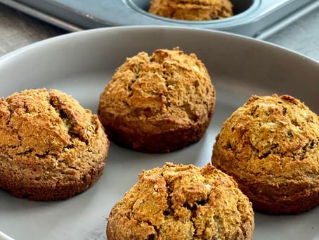 Buckwheat Banana Muffins-No Sugar, No Problem
