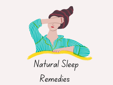 Friday Five 7/23: Natural Remedies for Sleep
