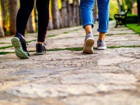 Walking for Brain Cells