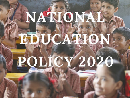 Current news | National Education Policy 2020 | The masterstroke?