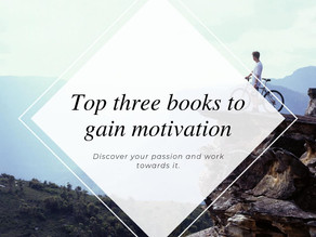 Top 3 books to read for motivation!