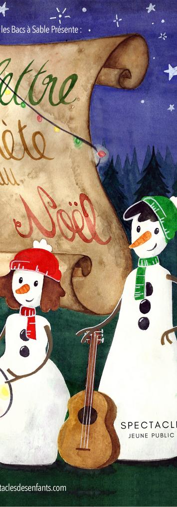 La lettre secrète du Père Noël Affiche 2