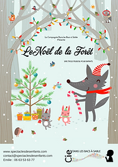 Spectacle de Noël Petite enfance
