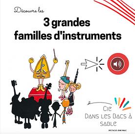 Découvre les 3 grandes familles d'instruments