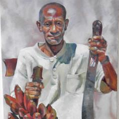 """Albert. Oil on Canvas.  20"""" x16""""."""