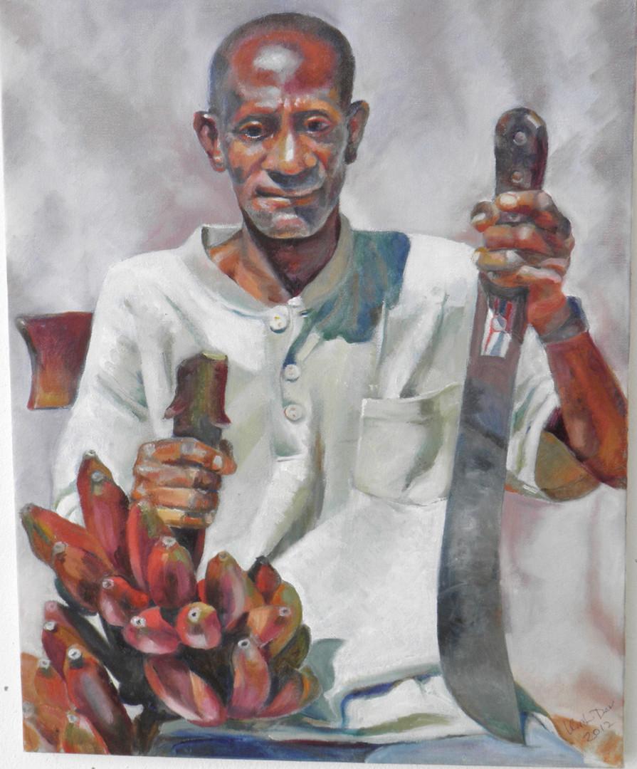 "Albert. Portrait.  Oil on Canvas 20"" x 16"""