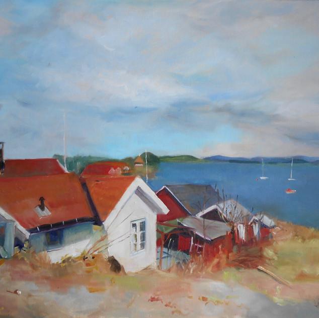 "Vollen, Asker.   Oil on Canvas. 20"" x 24"""