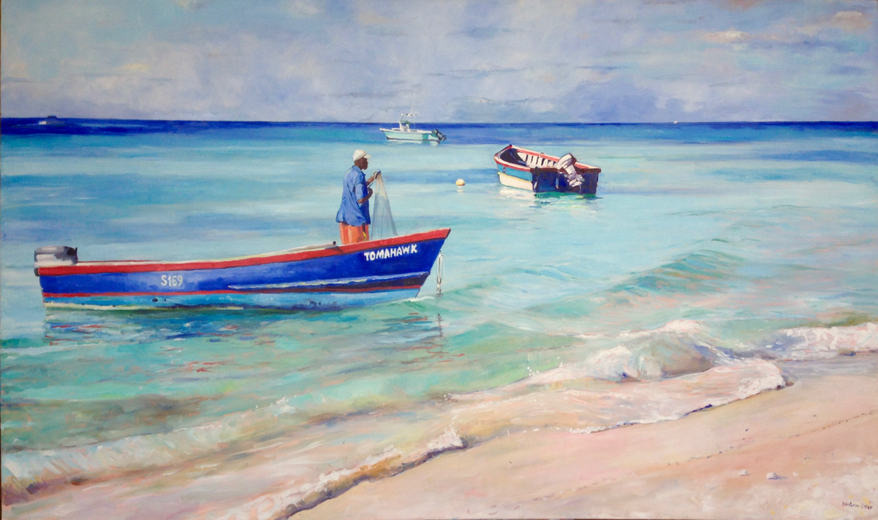 """View from the Beach 36""""x60"""""""