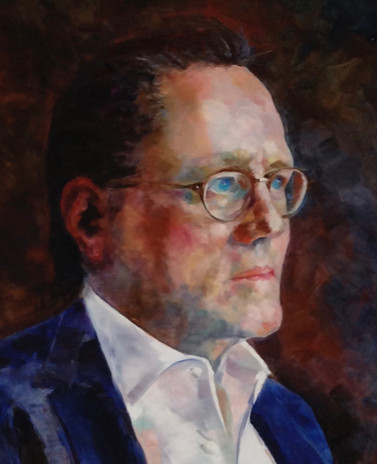 Portrait of Larry Warren and Eli (detail)