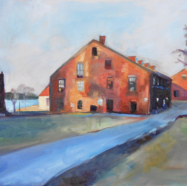 Veritas.   Oil on Canvas.