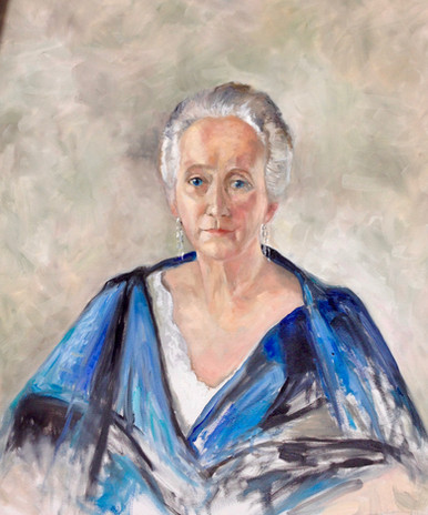"Portrait of Alice Martha Worcester Howe  36""x30"""