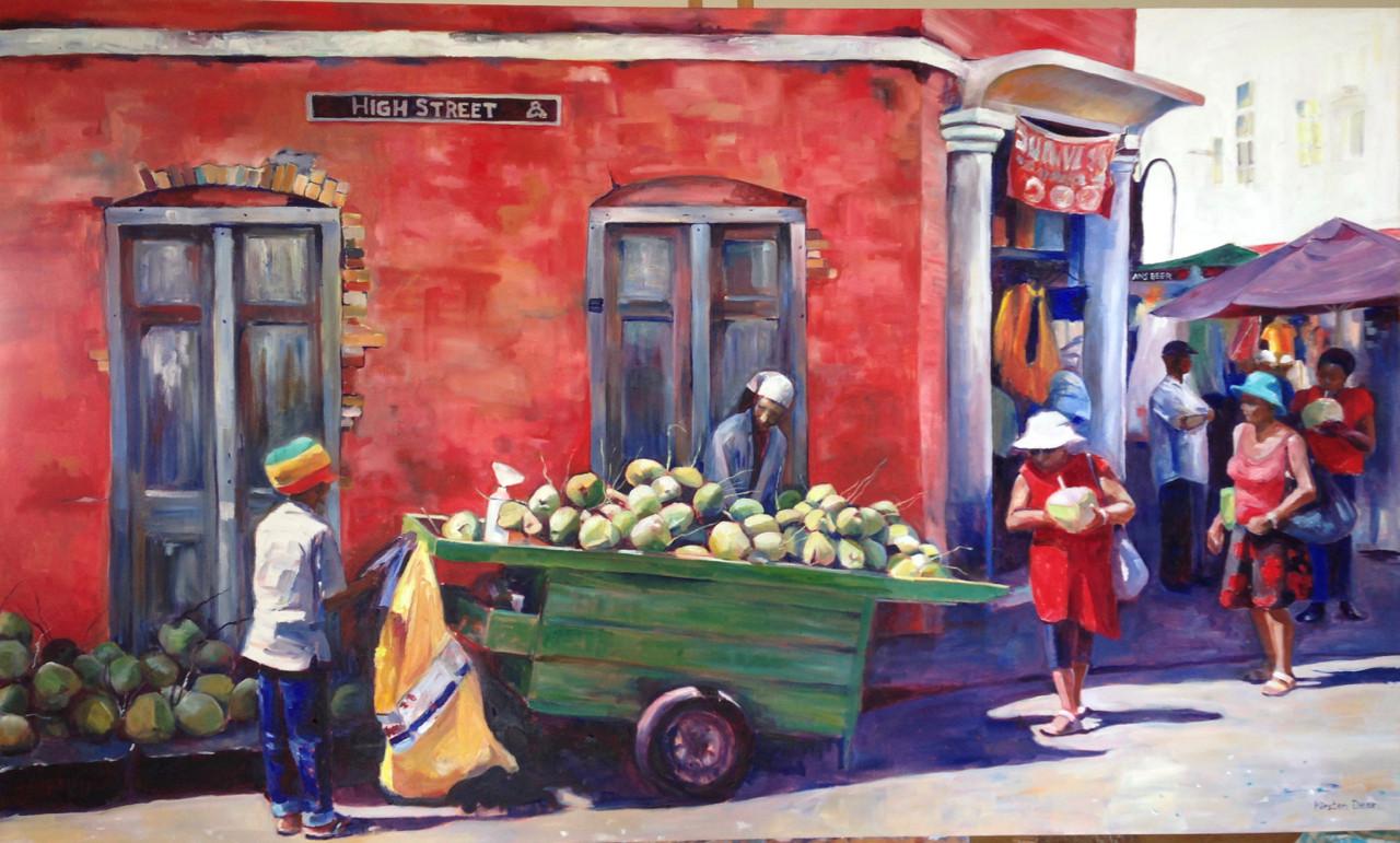 Art Kirsten Dear Barbados Oil Paintings