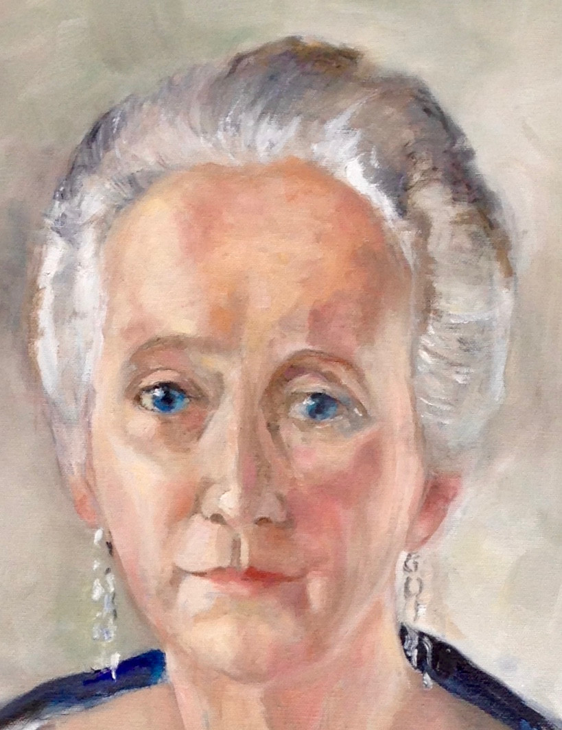 Alice Martha Worcester Howe detail