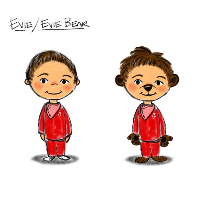 Evie/ Evie Bear - Rough