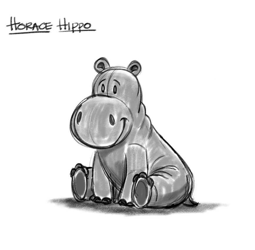 Horace Hippo - Rough