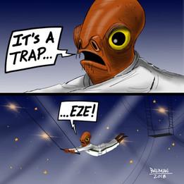 It's A Trap-eze!
