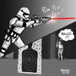 Trooper Target Practice