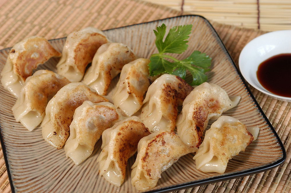 Chinese jiaozi gerecht