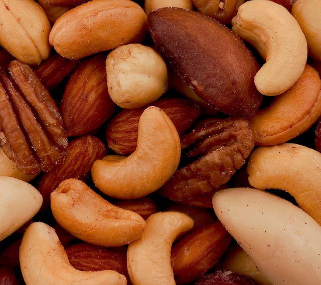 Vleesvervanger noten