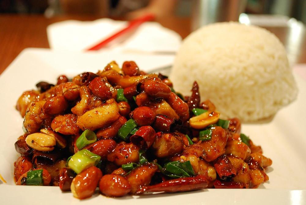 Chinese Gong Bao kip gerecht