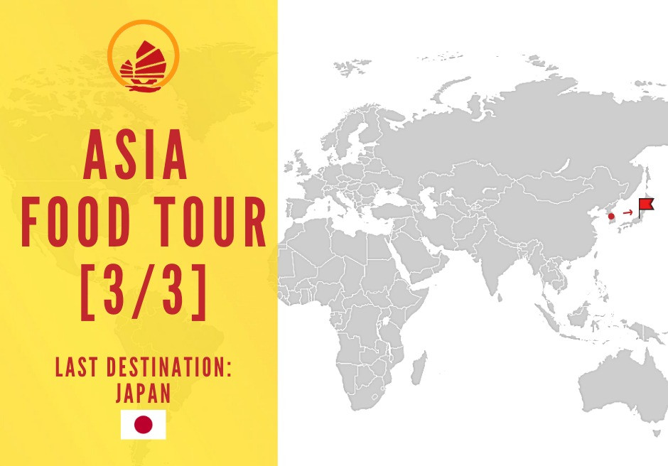 Asia Food Tour Japan