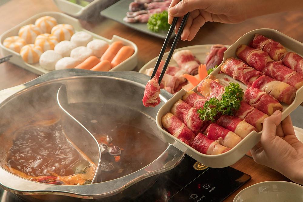 Chinese hotpot gerecht