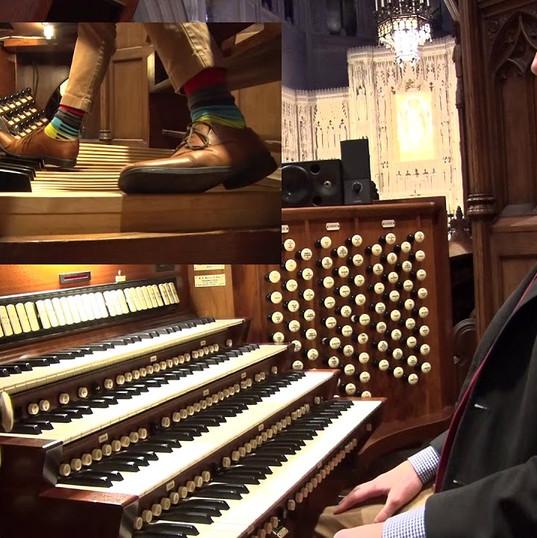 Demo of Washington National Cathedral organ  