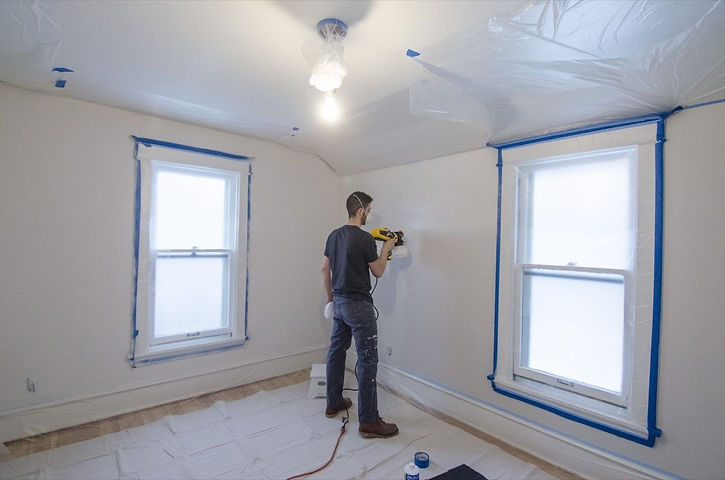 Apartment Painting Service work done by