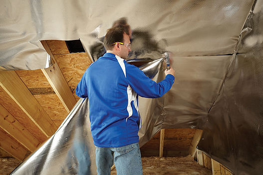 wall insulation services work done by a