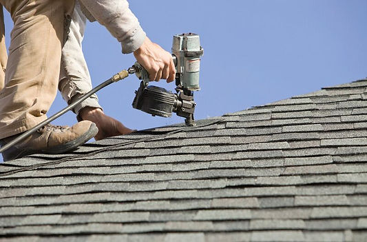 California roofing work being done by a handyman