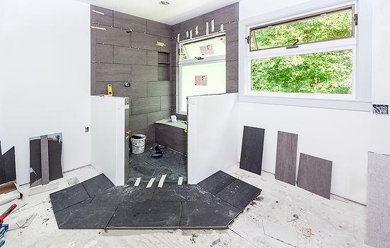 Norfolk Virginia handyman working on bathroom remodeling services jobs