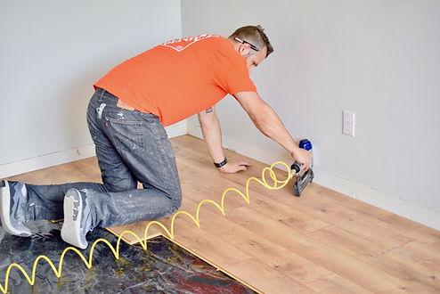 Hampton VA floor installation service wo