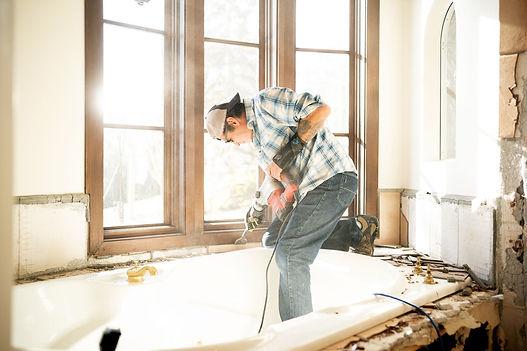 Corona California handywork service work being done by a handyman