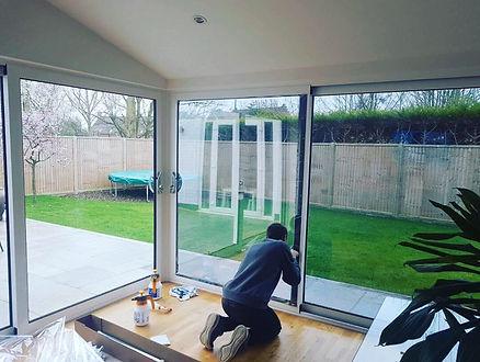 Norfolk Virginia handyman working on windows services jobs
