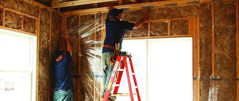 Copy of basement insulation service work