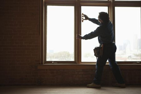 Norfolk Virginia windows being done by a handyman